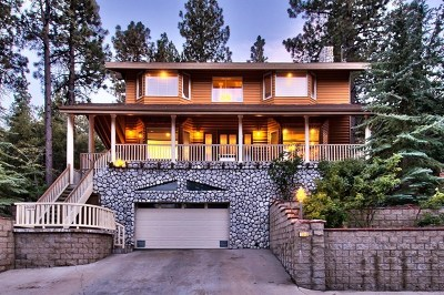Wrightwood Single Family Home For Sale: 26690 Timberline Drive