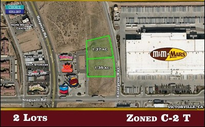 Victorville Residential Lots & Land For Sale: Enterprise Way