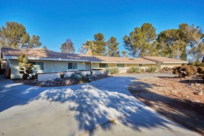 Apple Valley Single Family Home For Sale: 14770 Tigertail Road
