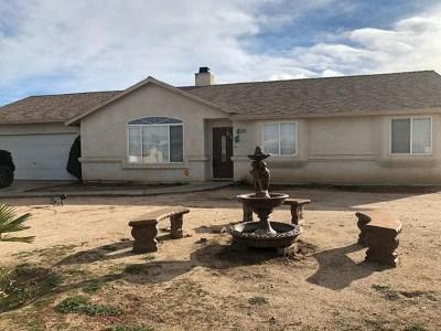 Victorville Single Family Home For Sale: 14641 Manzano Road