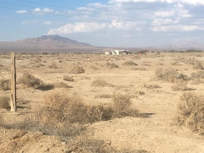 Lucerne Valley Residential Lots & Land For Sale: Locust Avenue