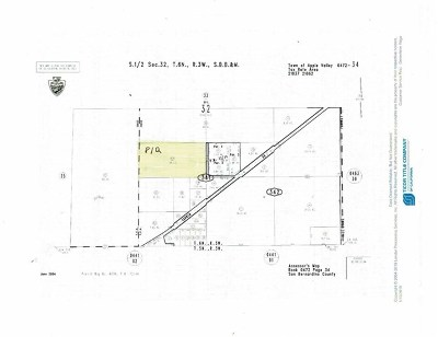 Apple Valley Residential Lots & Land For Sale: Corwin Road