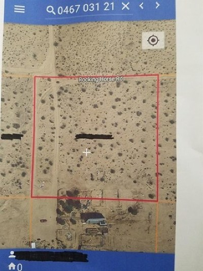 Helendale Residential Lots & Land For Sale: Rocking Horse Road