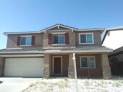 Hesperia Single Family Home For Sale: 13081 Cerritos Court