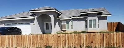 California City Single Family Home For Sale: 9025 Redwood Boulevard
