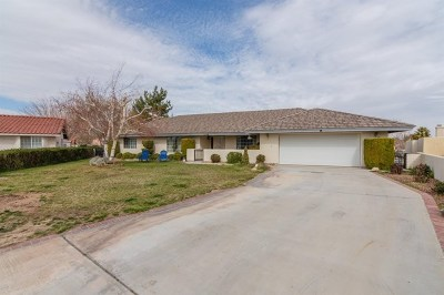Victorville Single Family Home For Sale: 18610 Catalina Drive