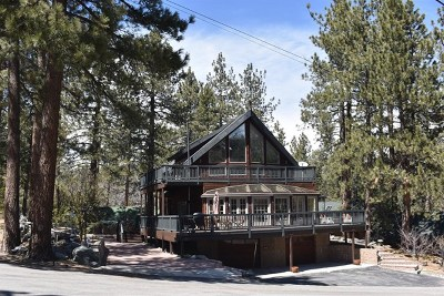 Wrightwood Single Family Home For Sale: 1018 Partridge Road