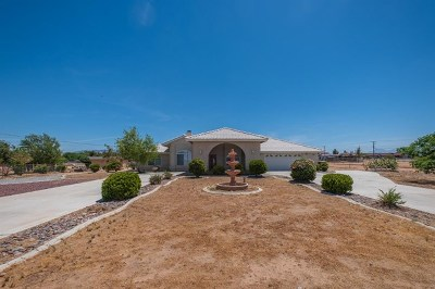 Hesperia Single Family Home For Sale: 17645 Mauna Loa Street