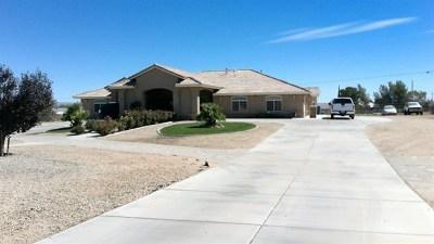 Hesperia Single Family Home For Sale: 11595 Maple Avenue
