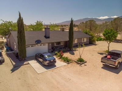 Lucerne Valley Single Family Home For Sale: 9441 Santa Fe