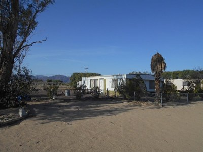 Newberry Springs Single Family Home For Sale: 35776 Lakeview Road