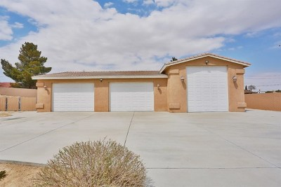 Apple Valley Single Family Home For Sale: 19420 Red Feather Road