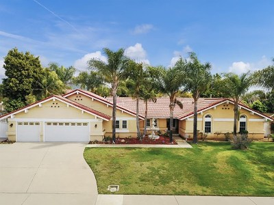 La Verne Single Family Home For Sale: 4710 Wheeler Avenue