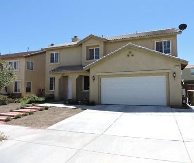 Hesperia Single Family Home For Sale: 13177 Newport Street