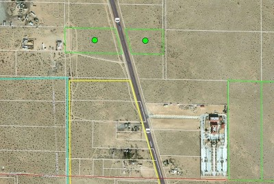 Adelanto Residential Lots & Land For Sale: Highway 395 Highway