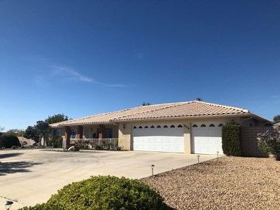 Apple Valley Single Family Home For Sale: 18574 Cocqui Road