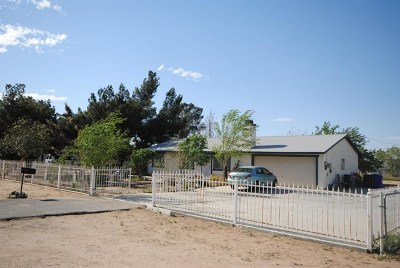 Apple Valley Single Family Home For Sale: 22364 Sioux Road