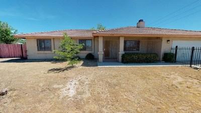Apple Valley Single Family Home For Sale: 11911 Kiowa Road