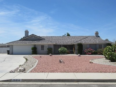 Apple Valley Single Family Home For Sale: 13814 Cuyamaca Road