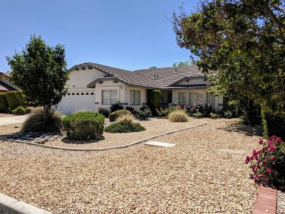 Helendale Single Family Home Active Under Contract: 15143 Tournament Drive