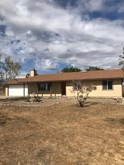 Phelan Single Family Home For Sale: 12780 Hacienda Road