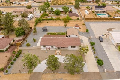 Apple Valley Single Family Home For Sale: 19132 Hupa Road