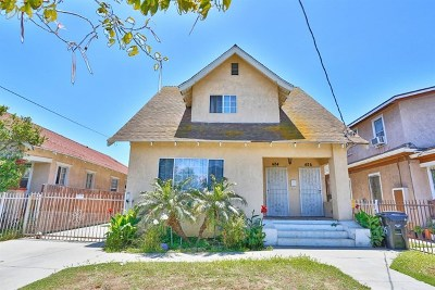 Los Angeles Multi Family Home For Sale: 424 W 55th Street