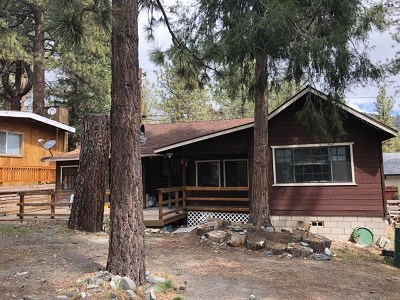 Wrightwood Single Family Home For Sale: 1654 Thrush Road