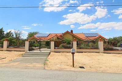 Hesperia Single Family Home For Sale: 18624 Pacific Street