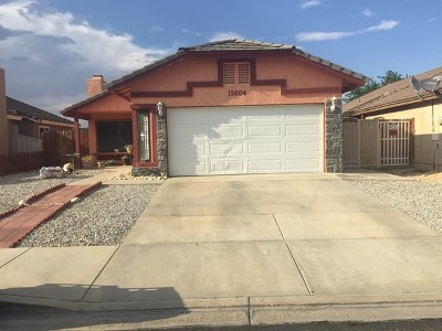 Victorville Single Family Home For Sale: 13604 Ironstone Circle