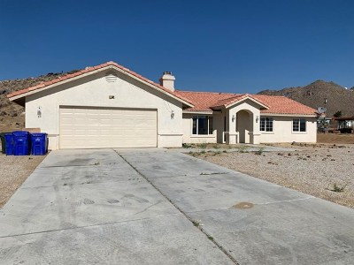 Apple Valley CA Single Family Home For Sale: $250,000