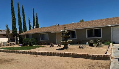 Victorville Single Family Home For Sale: 14528 Cerezo Road