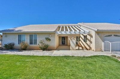 Phelan Single Family Home For Sale: 12140 Barker Road