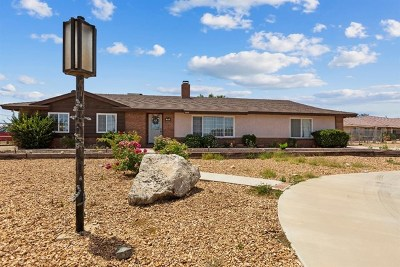 Hesperia Single Family Home For Sale: 7499 Victor Avenue