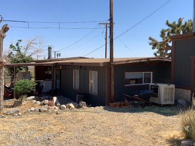 Lucerne Valley Single Family Home For Sale: 8725 Buena Vista Road