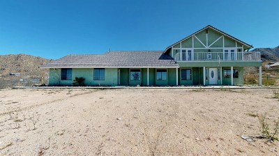 Apple Valley Single Family Home For Sale: 25525 Old Mine Road