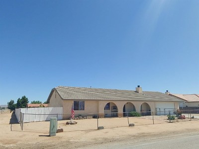 Apple Valley Single Family Home For Sale: 22400 Cholena Road