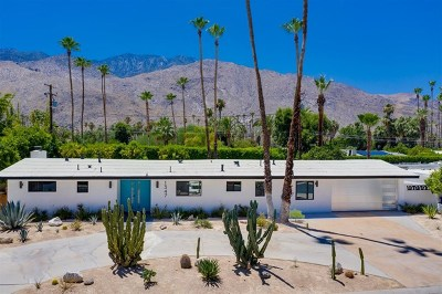 Palm Springs CA Single Family Home For Sale: $999,999