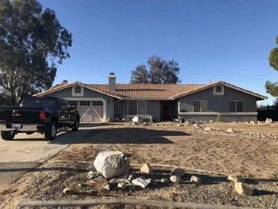 Hesperia Single Family Home For Sale: 8134 Mono Drive