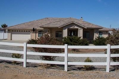 Phelan Single Family Home For Sale: 9620 Smith Road