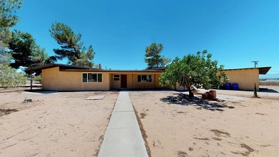 Apple Valley CA Single Family Home For Sale: $259,900