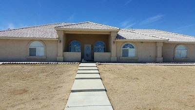 Phelan Single Family Home For Sale: 4425 Sunset Road