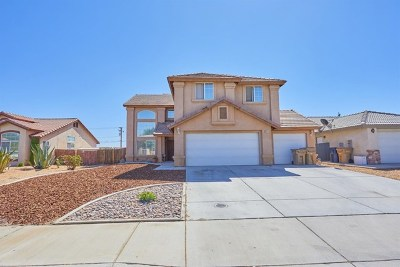 Hesperia Single Family Home For Sale: 8943 Concord Court