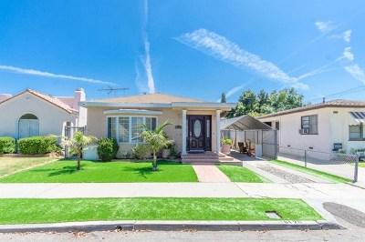 Long Beach Single Family Home For Sale: 6120 Gundry Avenue