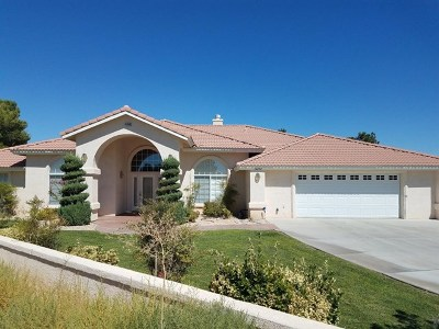 Helendale Single Family Home For Sale: 14898 Greenbriar Drive
