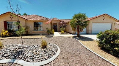 Apple Valley Single Family Home For Sale: 17777 Mana Road