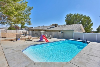 Apple Valley Single Family Home For Sale: 14080 Cuyamaca Road