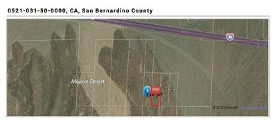 Newberry Springs Residential Lots & Land For Sale: Nearby I-40 Road