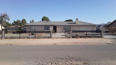 Apple Valley Single Family Home For Sale: 22242 Cholena Road