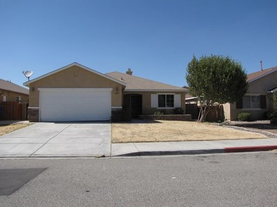 Victorville CA Single Family Home For Sale: $284,900